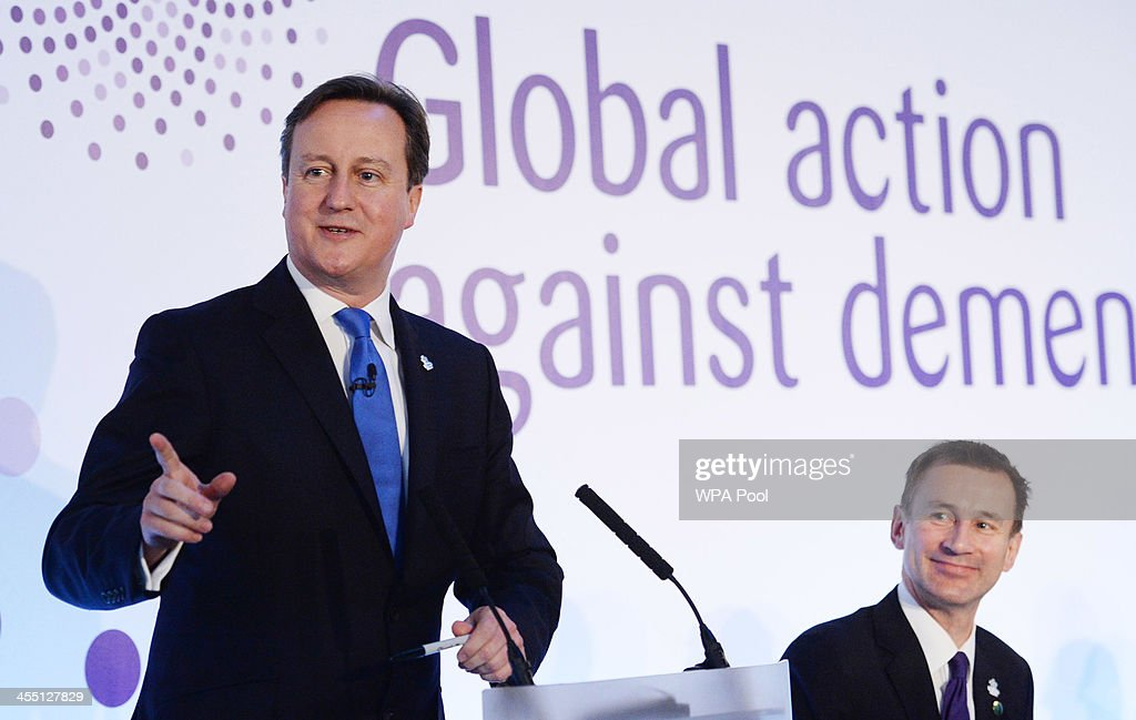 G8 Health Ministers Meet In London For Dementia Summit