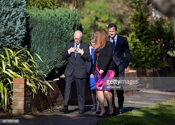 Prime Minister David Cameron arrives to introduce the Conservative Party's two applicants councillors Anna Firth and Kelly Tolhurst for their...