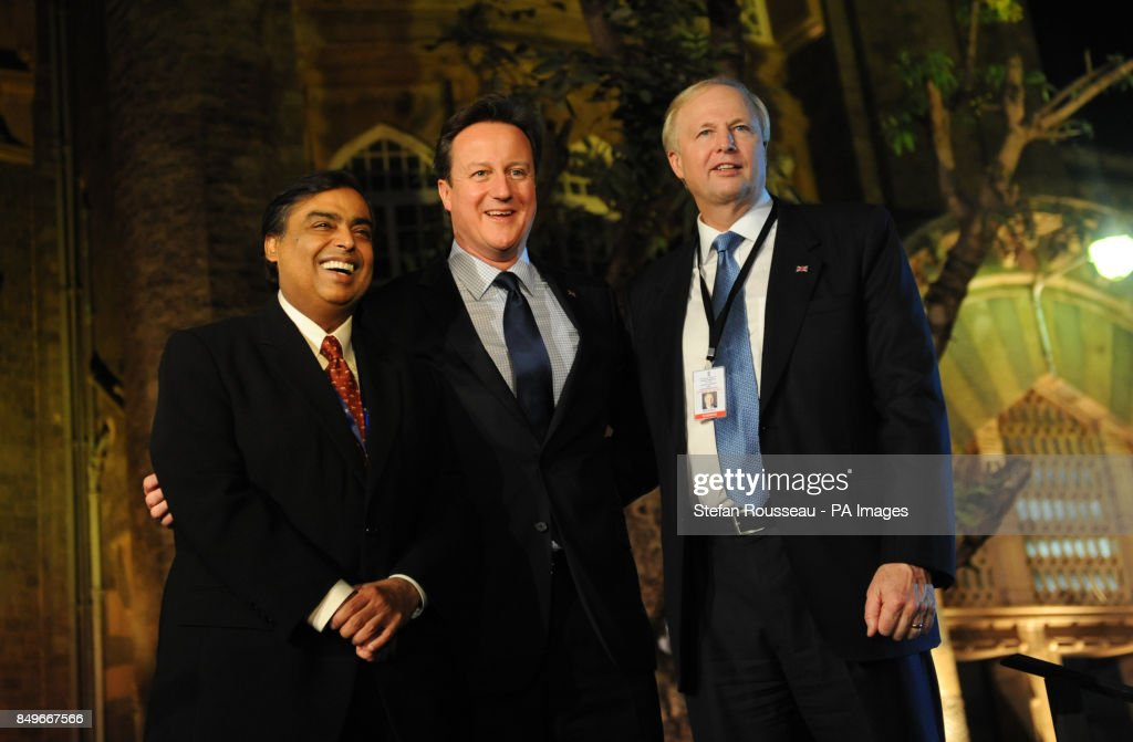 Cameron visit to India - Day 1 : News Photo