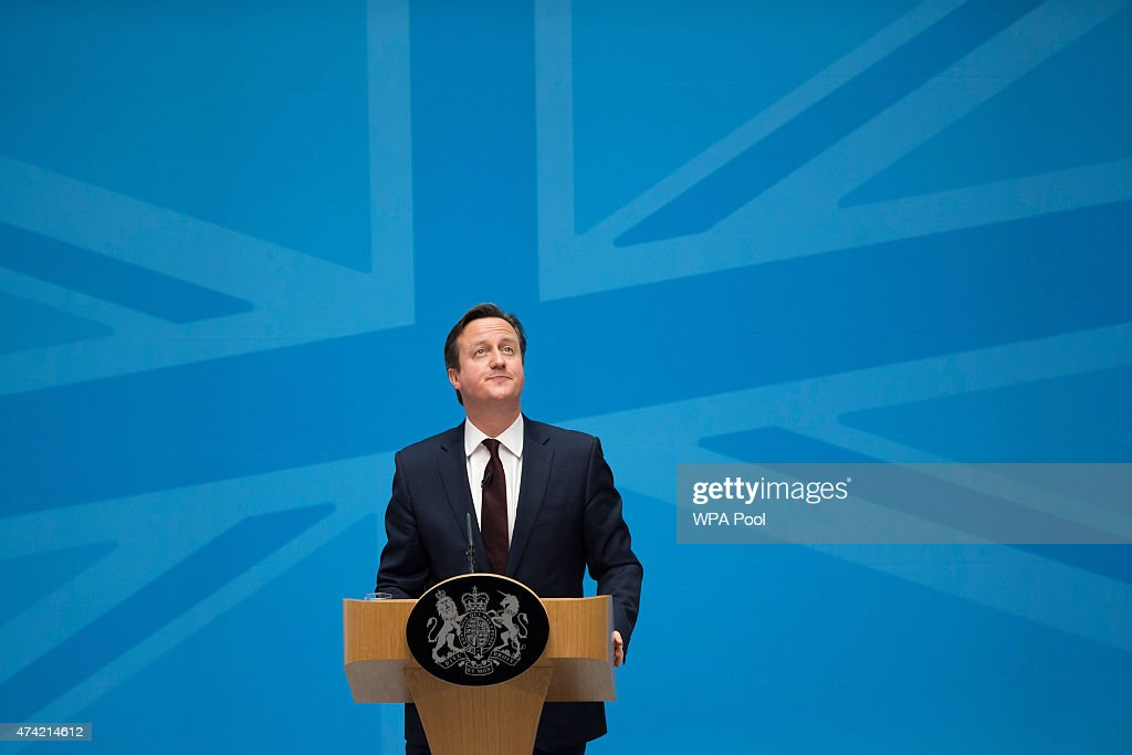 The Prime Minister And Home Secretary Address Immigration : News Photo