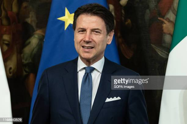Prime Minister Giuseppe Conte speaks during the Swearing in ceremony of the State Undersecretaries in Rome