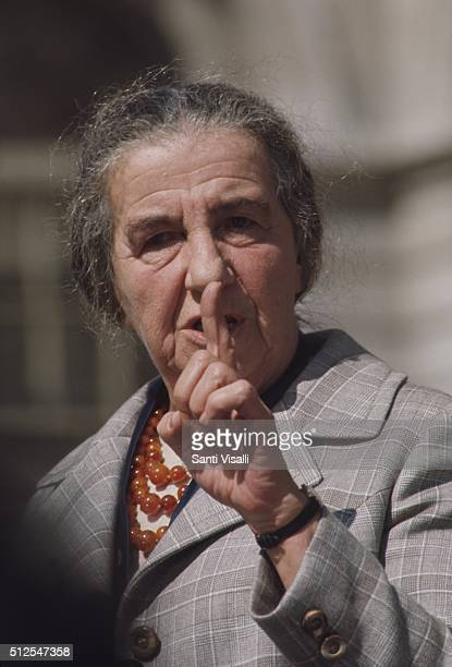 Prime Minister Golda Meir visiting NYC on November 20 1969 in New York New York