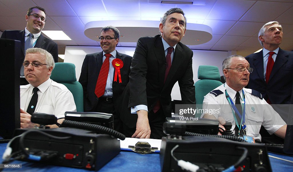 Gordon Brown Takes The Labour Campaign To North West England