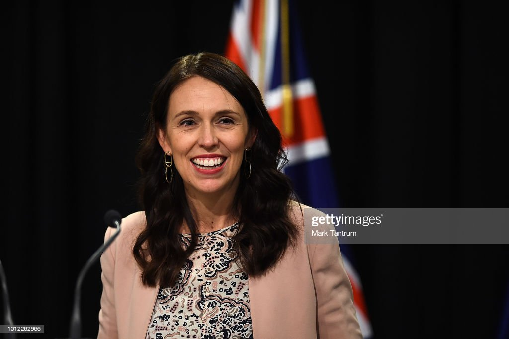 Prime Minister Jacinda Ardern Holds Press Conference To Announce Nurses Pay Settlement