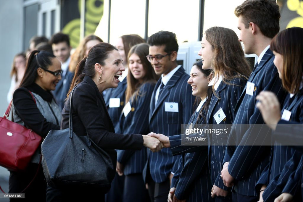 Prime Minister Jacinda Ardern Launches New Digital Portal To Help Students Start Construction Careers