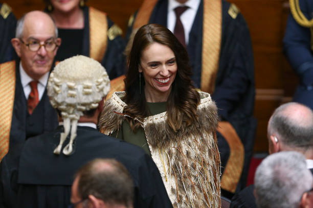 NZL: State Opening Of New Zealand's 53rd Parliament