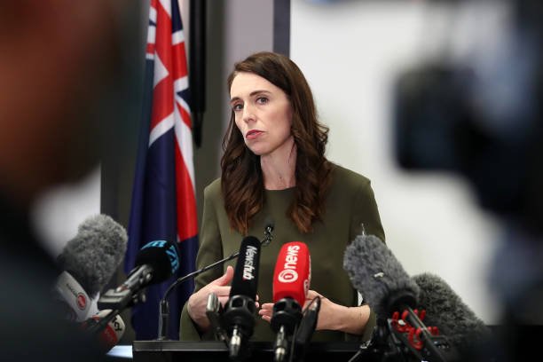 NZL: Prime Minister Jacinda Ardern Announces New COVID-19 Level Settings Following National Cabinet Meeting