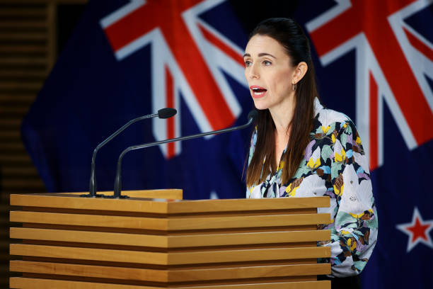 NZL: Prime Minister Jacinda Ardern Gives COVID-19 Update As Auckland Begins 7-Day Lockdown