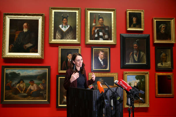 NZL: Prime Minister Jacinda Ardern Arts Culture And Heritage Announcement