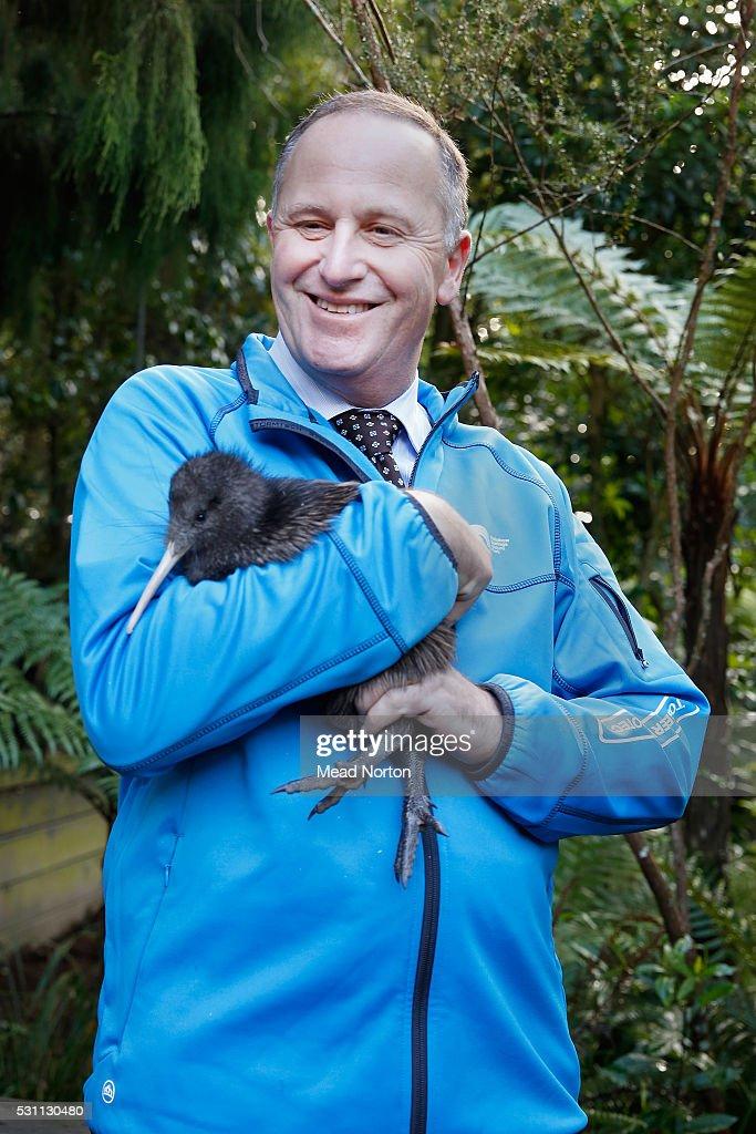 Prime Minister John Key Visits Rainbow Springs