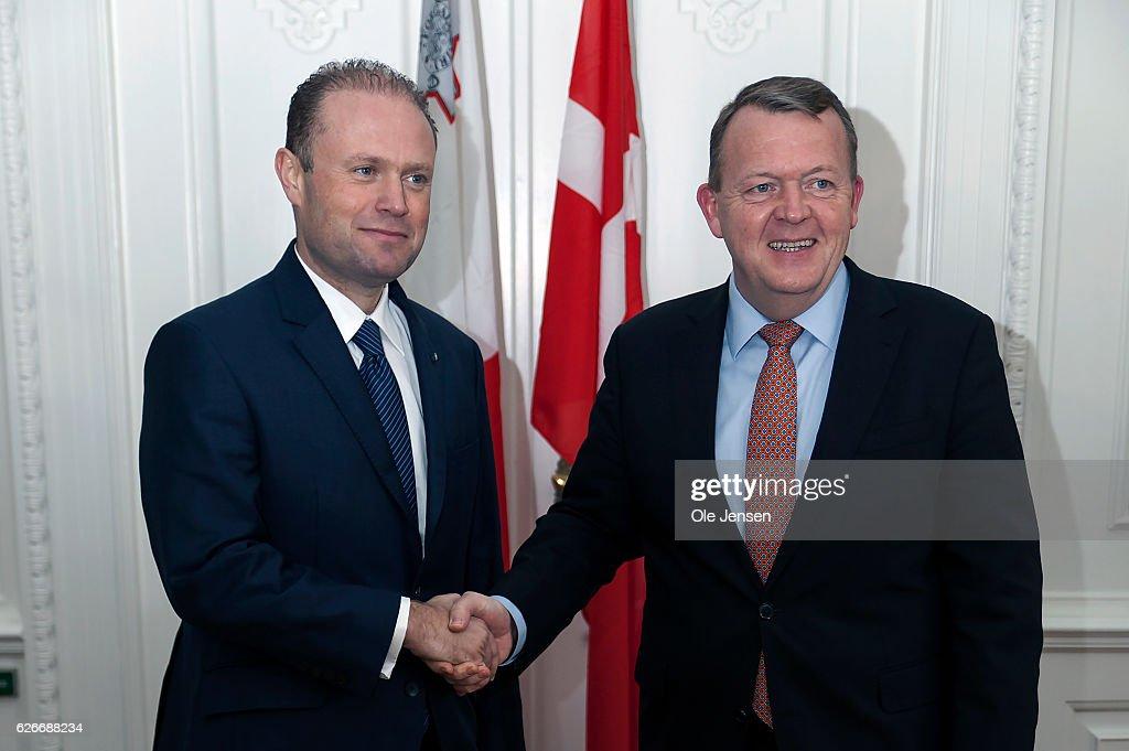 Prime Minister Of Malta Visits Denmark