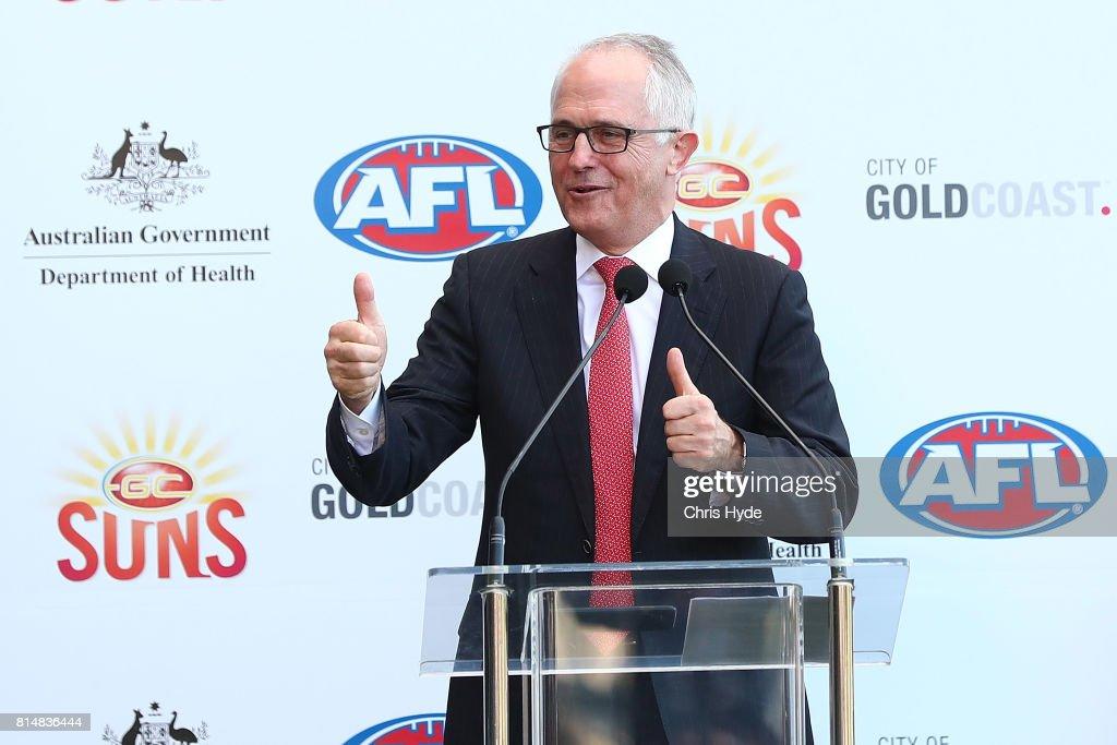 AFL Rd 17 - Gold Coast v Collingwood : News Photo