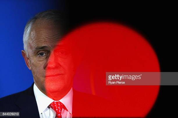 Prime Minister Malcolm Turnbull speaks during a press conference at the Sofitel Wentworth on July 1 2016 in Sydney Australia
