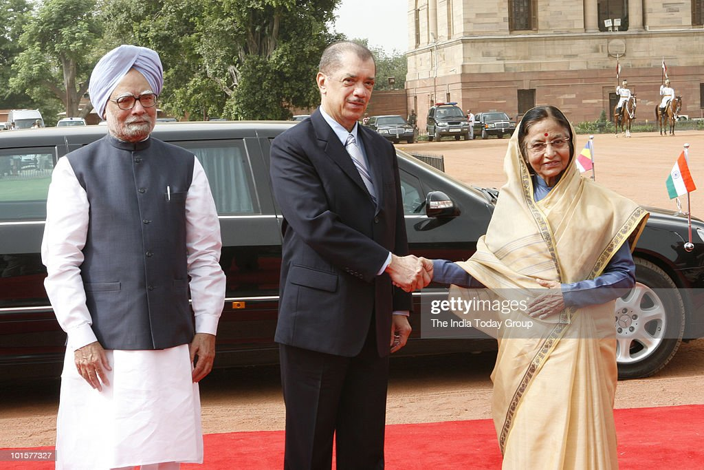 President of Seychelles in India : News Photo