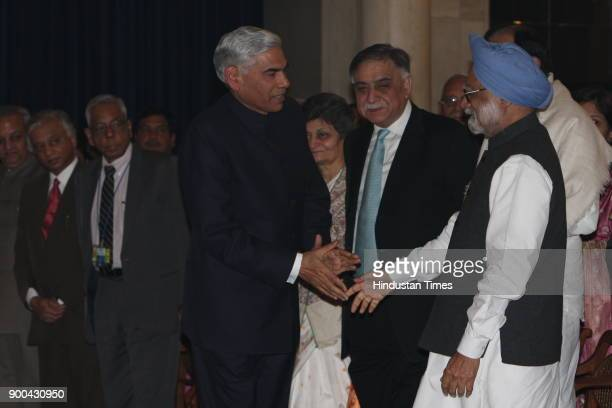 Prime Minister Manmohan Singh during oath taking ceremony of new Comptroller and Auditor General Vinod Rai at Rashtrapati Bhawan in New Delhi on...