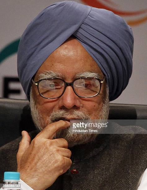 Prime Minister Manmohan Singh during the inauguration of the Federation of Indian Chambers of Commerce and Industry 85th Annual General Meeting on...