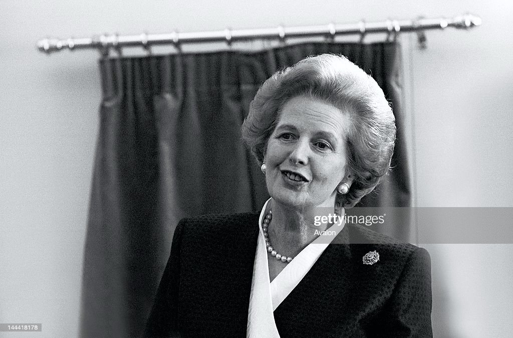 Prime Minister Margaret Thatcher opening the Ministry of Agriculture, Fisheries & Food's Food Science Laboratory at Colney Lane, Norwich on 23 May 1990.;