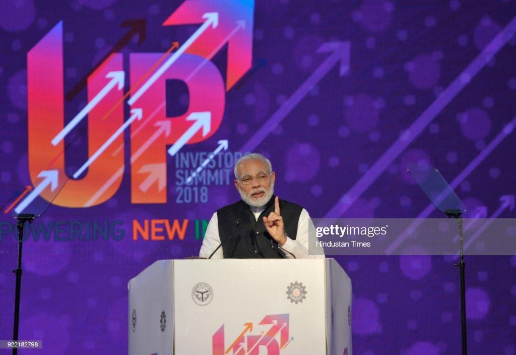 Uttar Pradesh Investors' Summit-2018 : News Photo