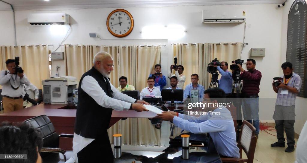 IND: Lok Sabha Elections 2019 Prime Minister Narendra Modi Filed Nomination Papers From Varanasi