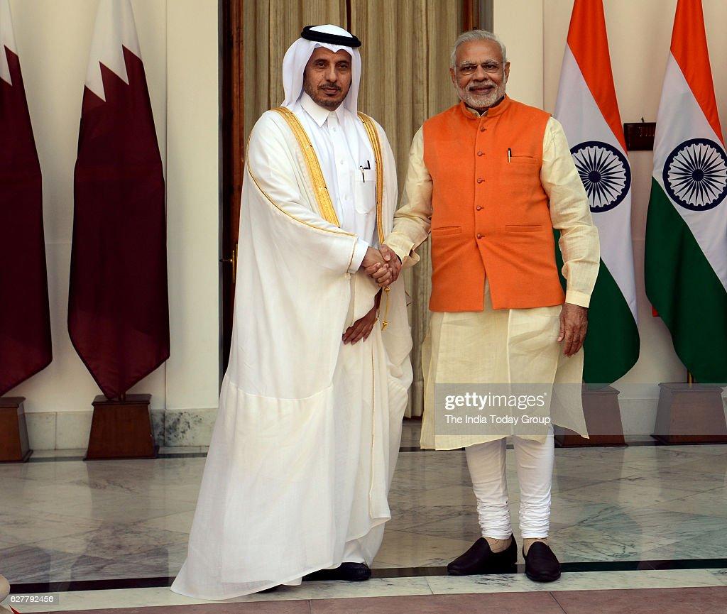 Modi, Qatar PM hold delegation-level talks : News Photo