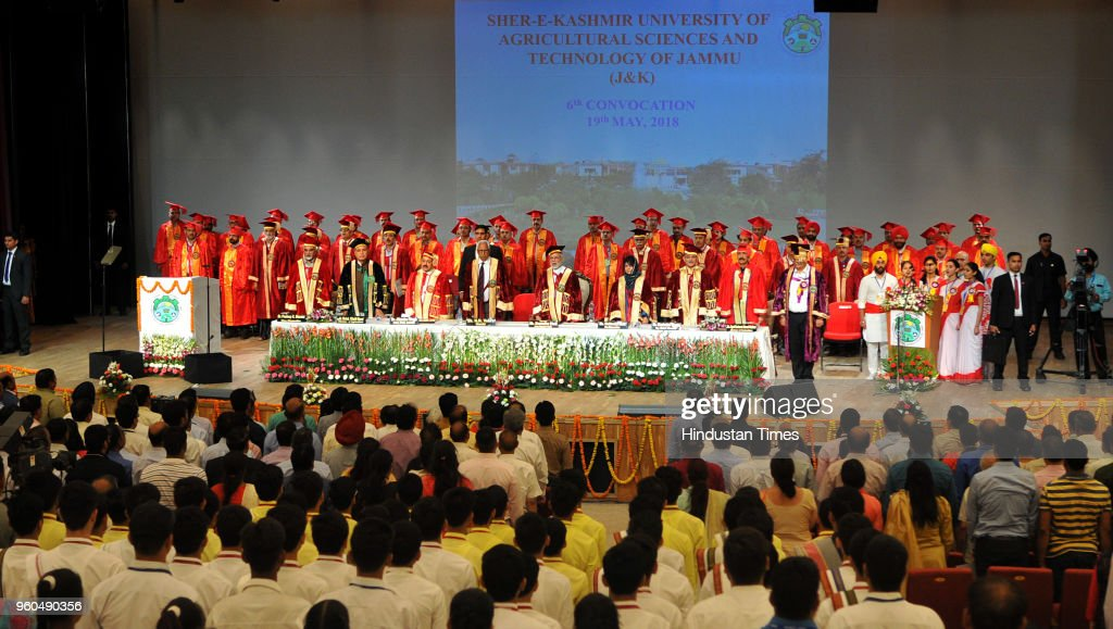 Prime Minister Narendra Modi Addresses 6th Convocation Of SKUAST In Jammu