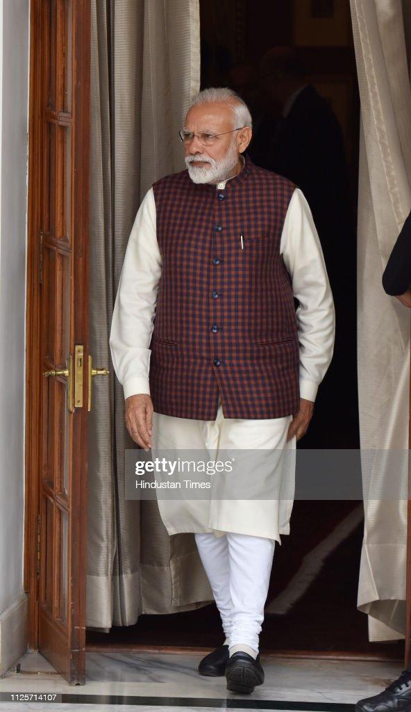 IND: Prime Minister Narendra Modi And Argentina President Mauricio Macri Hold Bilateral Talks