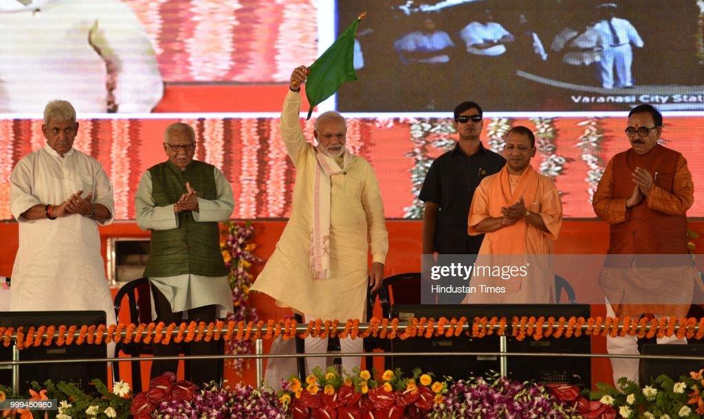 Prime Minister Narendra Modi Holds A Public Rally In Varanasi