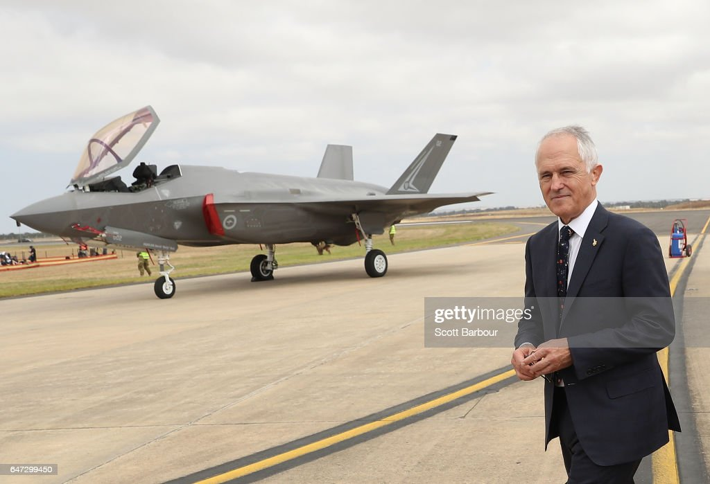 Prime Minister Malcolm Turnbull Attends Avalon Airshow
