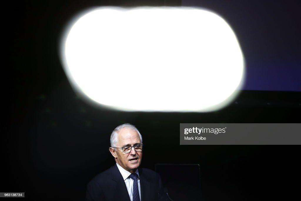 PM Malcolm Turnbull And NSW Premier Gladys Berejiklian Host Investor Forum For New Western Sydney Airport