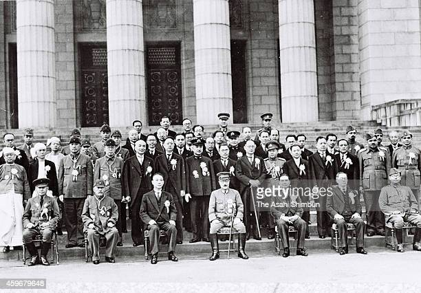 Prime Minister of Burmna Ba Maw Manchukuo Prime Minister Zhang Jinghui President of the Reorganized National Government of China Wang Jingwei...