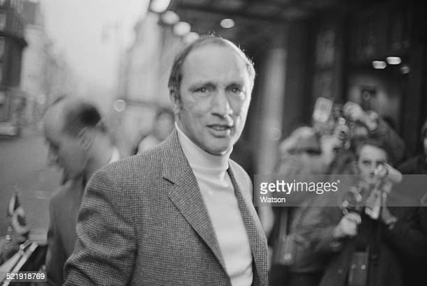 Prime Minister of Canada Pierre Trudeau at Claridge's hotel London 4th January 1969