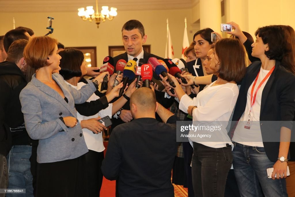 New government wins vote of confidence in Georgia : News Photo