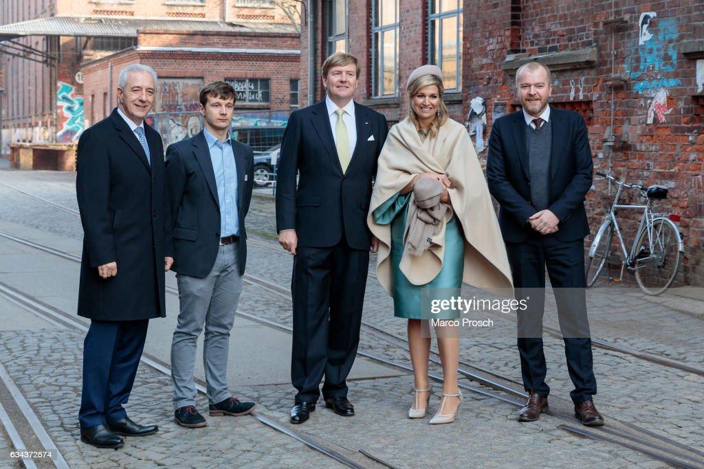 King Willem-Alexander And Queen Maxima Of The Netherlands Visit Saxony - Day 2 : Nachrichtenfoto