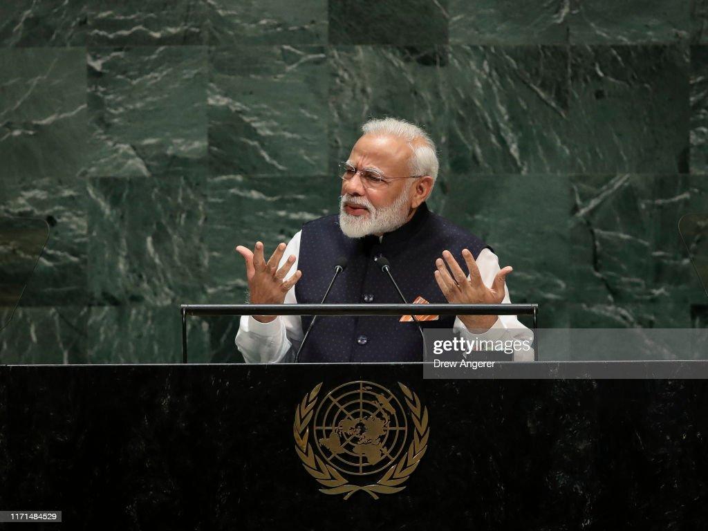 World Leaders Address United Nations General Assembly : Foto jornalística