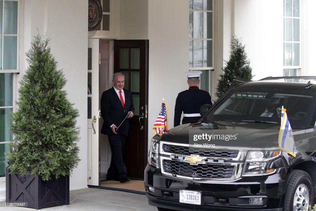 DC: President Donald Trump Welcomes Israeli Prime Minister Benjamin Netanyahu To The White House