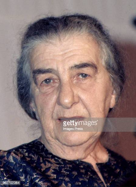 Prime Minister of Israel Golda Meir circa May 1973 in New York City