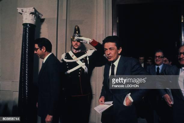 Prime Minister of Italy Aldo Moro in Rome Italy in 1976
