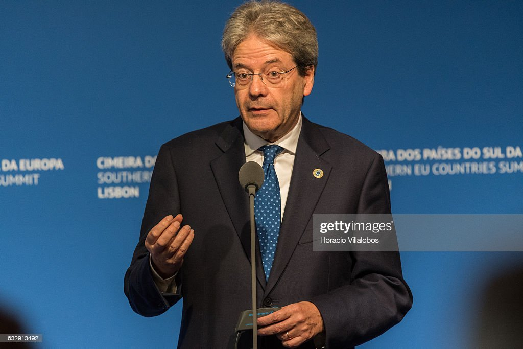 Summit Of Southern European States In Lisbon : News Photo