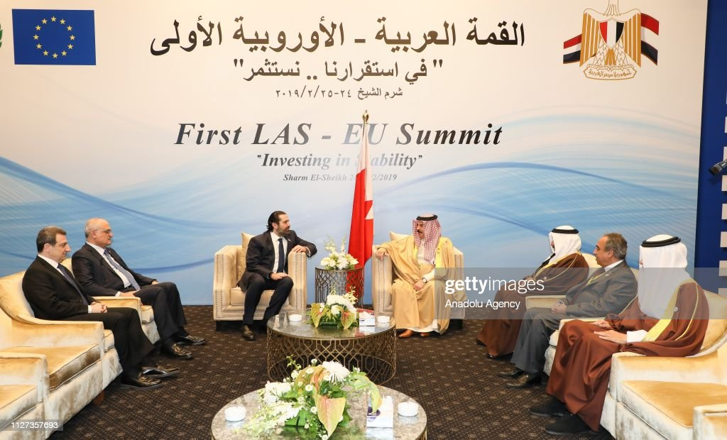 EU-Arab League summit in Egypt : News Photo