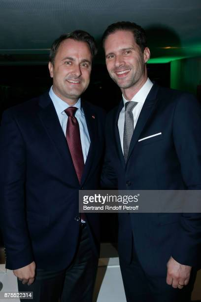 Prime Minister of Luxembourg Xavier Bettel and his husband Architect Gauthier Destenay attend the 22th Edition of ''Les Sapins de Noel des Createurs...