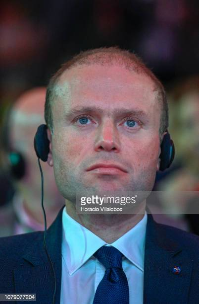 Prime Minister of Malta Joseph Muscat at the Party of European Socialists PES Congress 2018 on December 08 2018 in Lisbon Portugal The XI PES...
