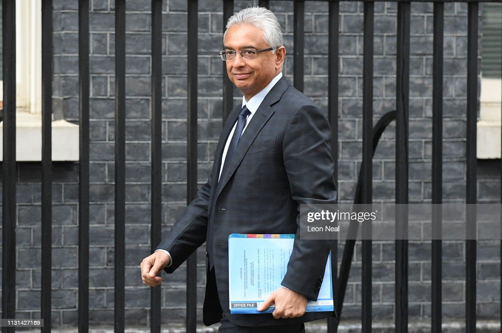 GBR: PM of Mauritius Pravind Jugnauth Visits 10 Downing Street