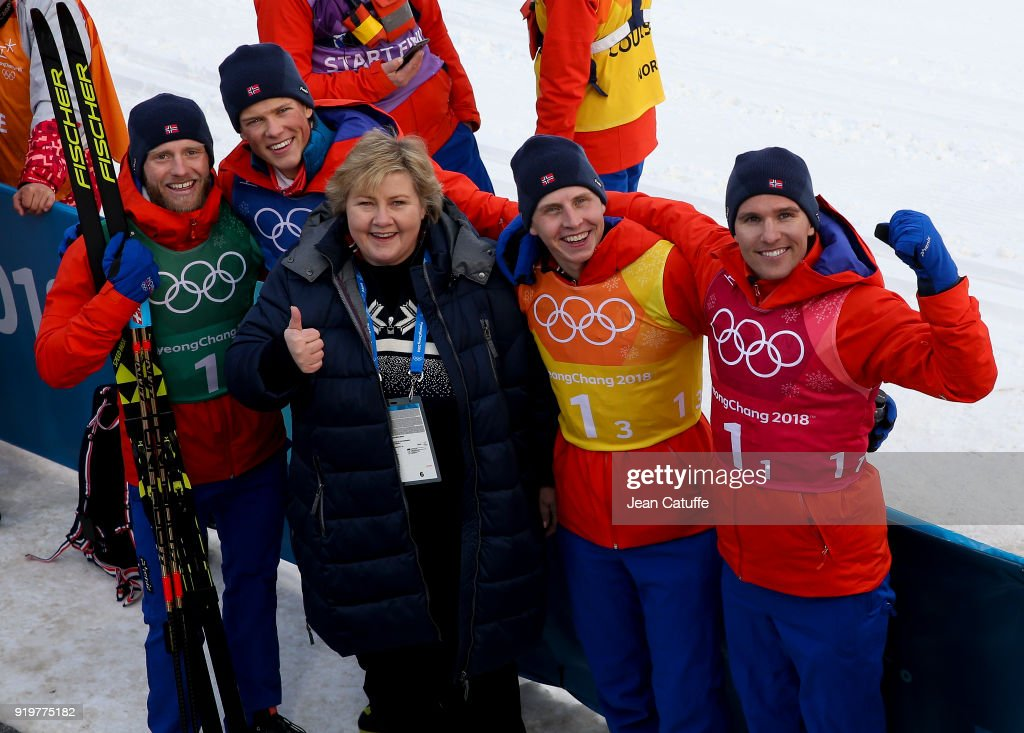 Winter Olympics - Celebrity Appearances