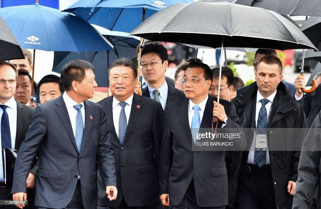 CROATIA-CHINA-ECONOMY-CONSTRUCTION : News Photo