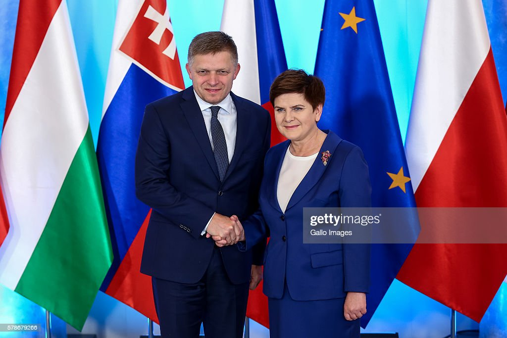The Visegrad Group Meeting