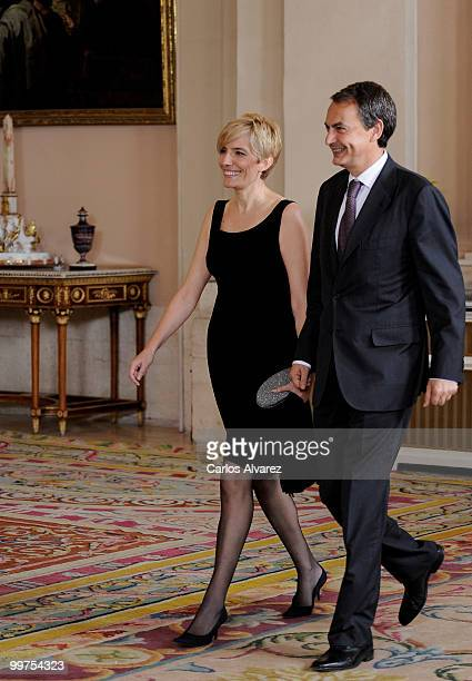 Prime Minister of Spain Jose Luis Rodriguez Zapatero and his wife Sonsoles Espinosa attend the VI European Union Latin America and Caribbean Summit...
