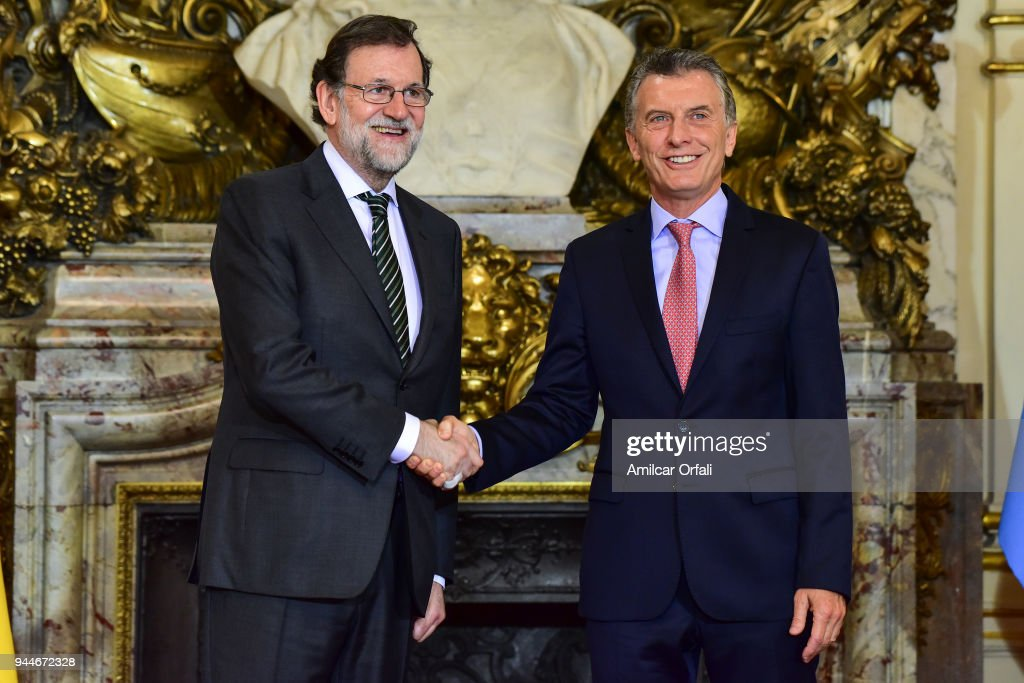 Day 1 - President Of Spain Mariano Rajoy Visits Argentina