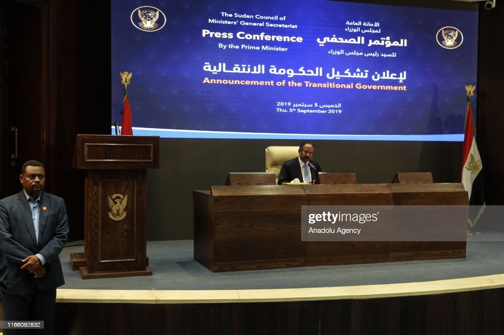 Announcement of the Transitional Government in Sudan : News Photo