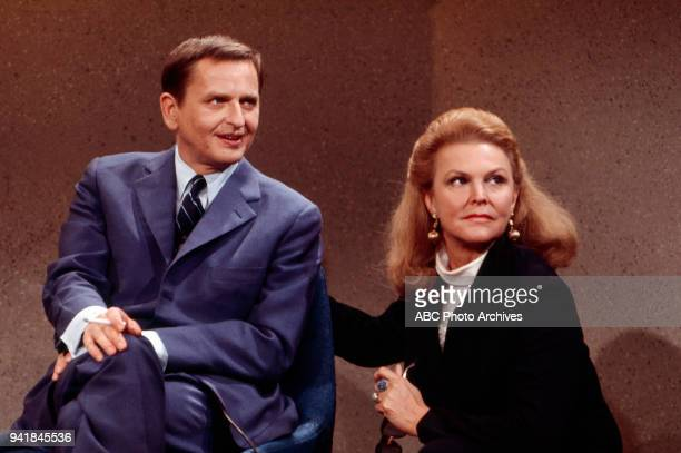 Prime Minister of Sweden Olof Palme Margaret 'Peggy' Whedon on Walt Disney Television via Getty Images's 'Issues and Answers' program