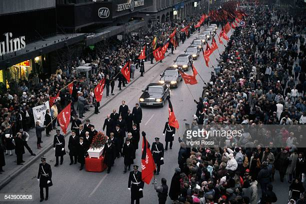 Prime Minister of Sweden Olof Palme was the leader of the Swedish Social Democratic Party from 1969 until his assassination on February 28 1986 He...